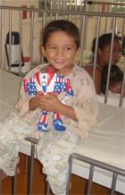 Toy donation at Hospital Roosevelt