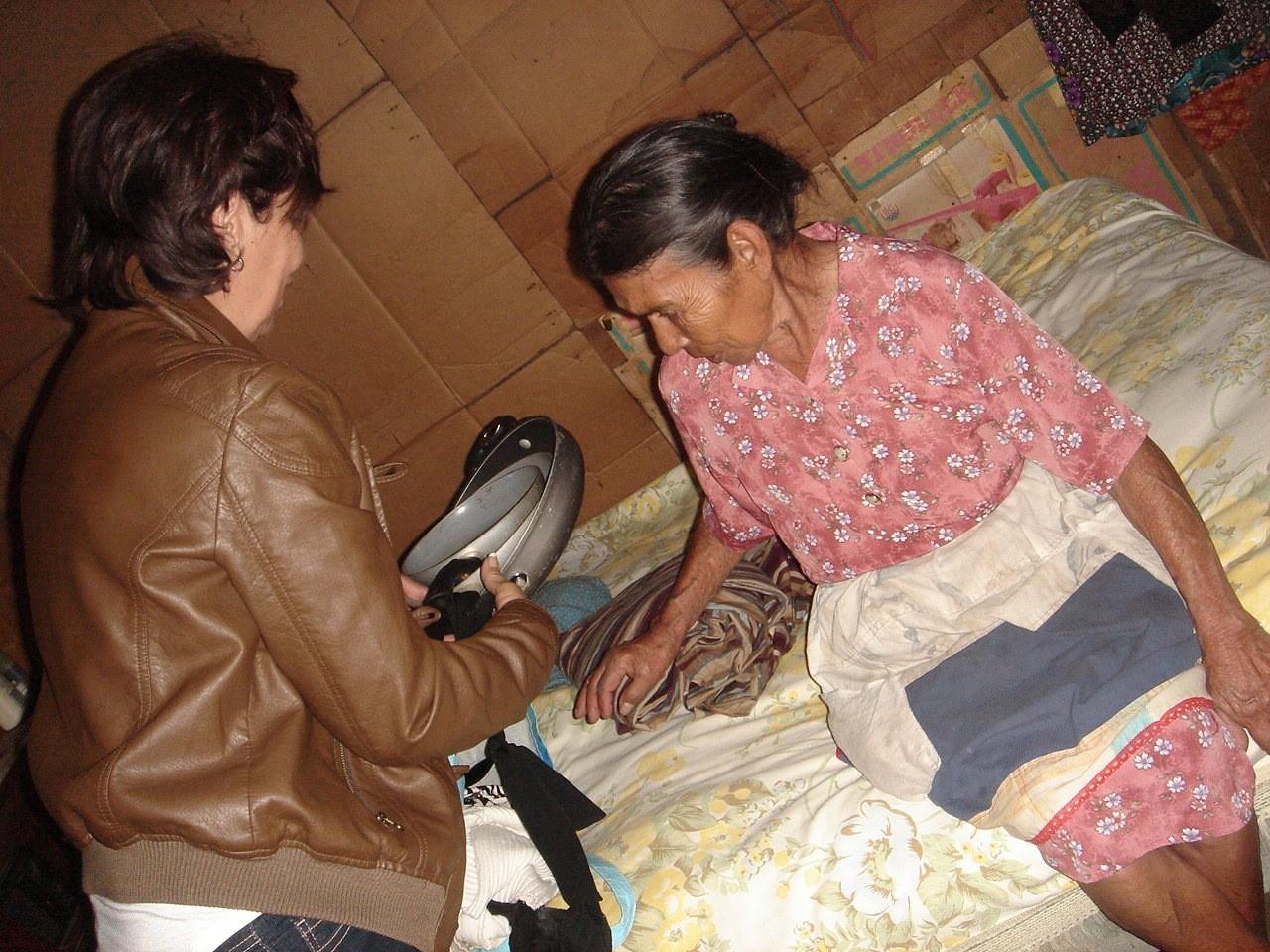 Bringing Donations