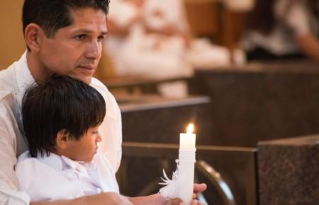 Edson's Baptism