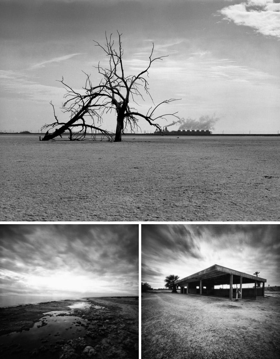 Salton Sea Black and Whites
